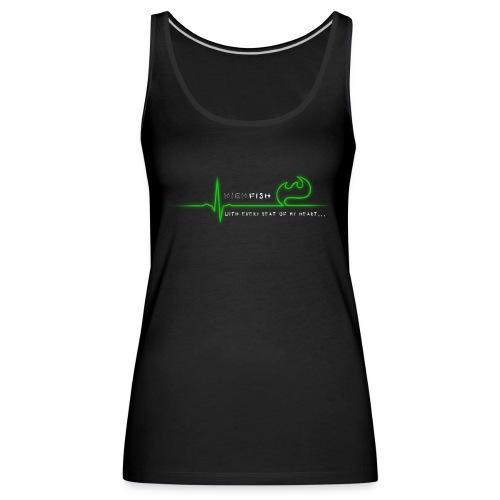Heartbeat - Frauen Premium Tank Top
