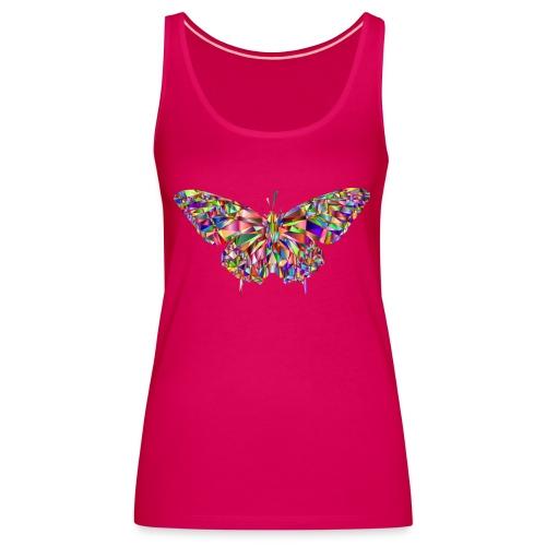 Geflogener Schmetterling - Frauen Premium Tank Top