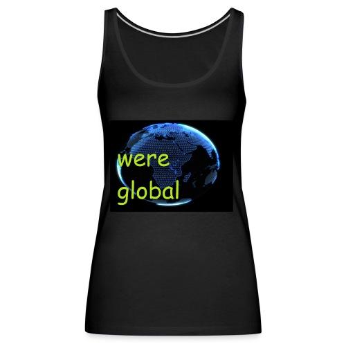 Were Global - Naisten premium hihaton toppi