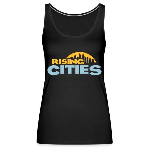 Rising Cities Logo stylized - Frauen Premium Tank Top