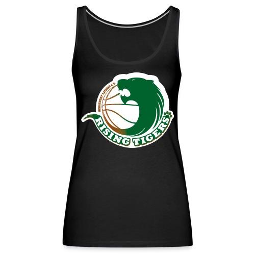 logo rising tigers farbig - Frauen Premium Tank Top