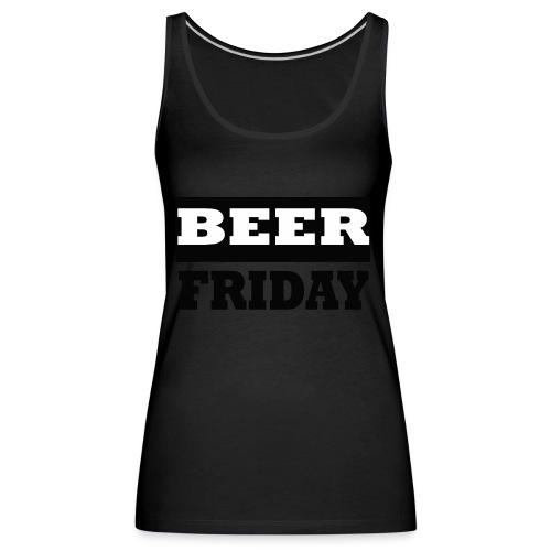 beerfriday - Camiseta de tirantes premium mujer