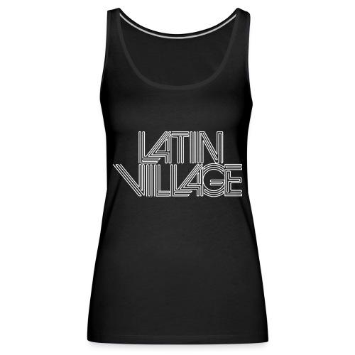 logo latin village westergas - Vrouwen Premium tank top