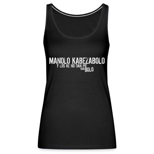 logotienda - Camiseta de tirantes premium mujer