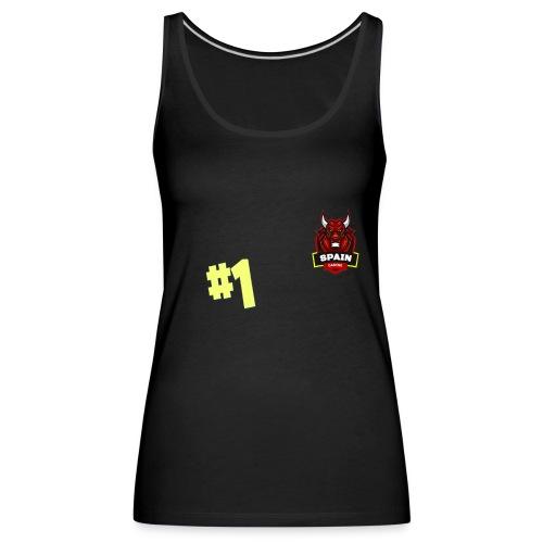 Top 1 - Camiseta de tirantes premium mujer