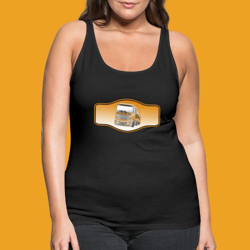 DerSimiGamer auf ein Schild - Frauen Premium Tank Top