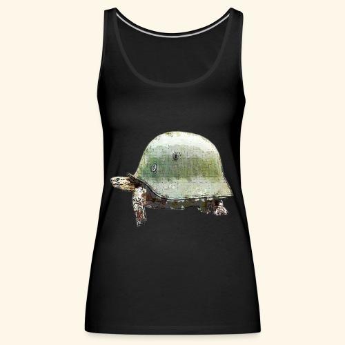 TORTUGA CASCO MILITAR - Camiseta de tirantes premium mujer