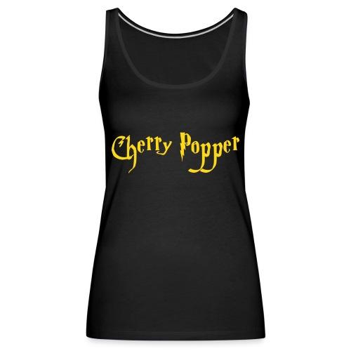 cherry vector - Women's Premium Tank Top
