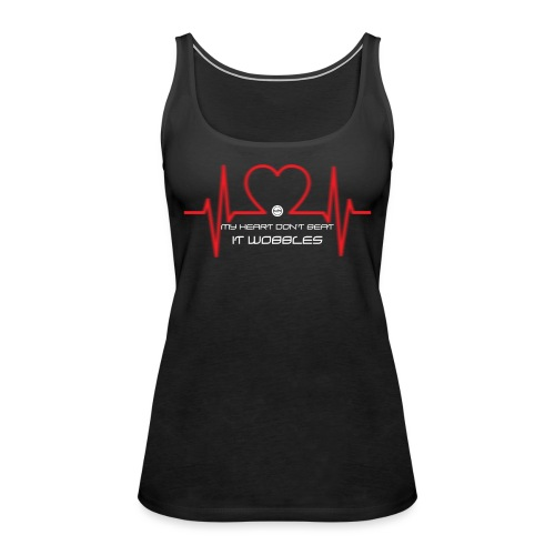 HeartDontBeatWhite - Women's Premium Tank Top