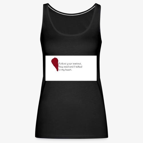 Heart Art - Frauen Premium Tank Top