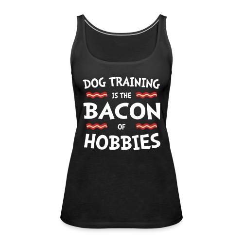 Bacon - hvid - Dame Premium tanktop