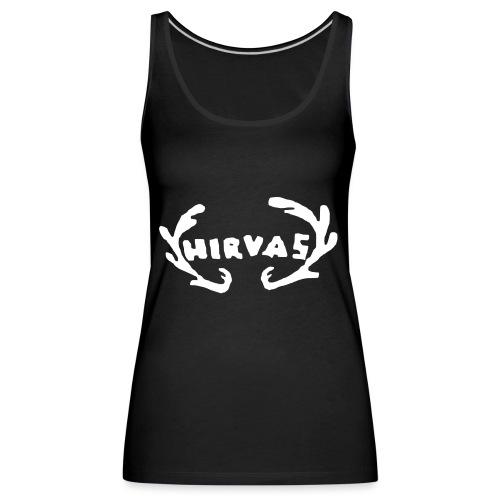 Hirvas vaalea - Naisten premium hihaton toppi