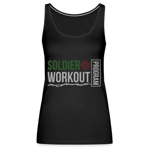 Soldier Workout Program - Premiumtanktopp dam