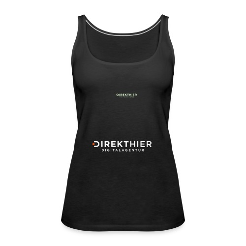 DIREKTHIER Logo - Frauen Premium Tank Top