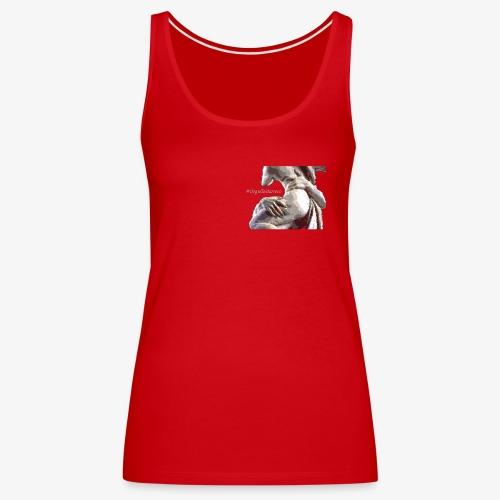 #OrgulloBarroco Rapto difuminado - Camiseta de tirantes premium mujer