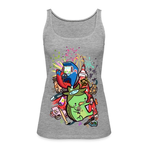 t shirt design best of 2012 by toen d5qaap9 png - Vrouwen Premium tank top