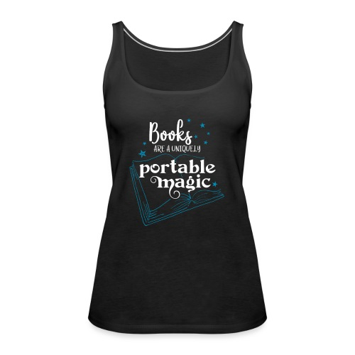 0030 books are unique magic | Magic - Women's Premium Tank Top