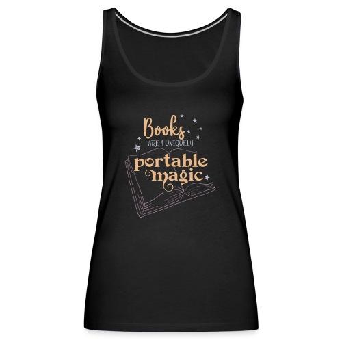0029 books | Book | Reading | Reader | magic - Women's Premium Tank Top