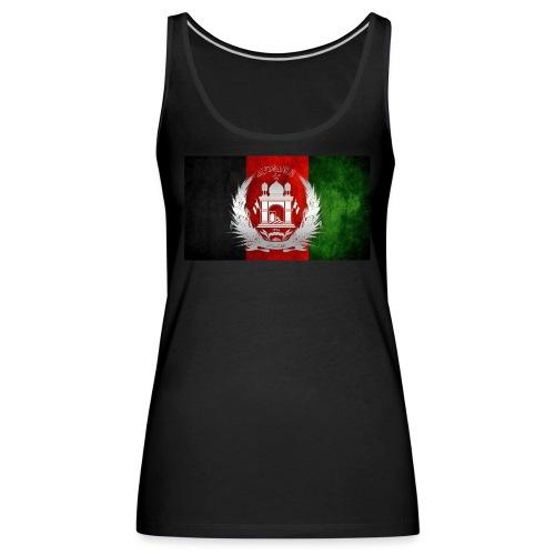 Afghanistan Flagge - Frauen Premium Tank Top