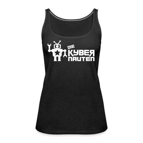 kyber_logo2_schwarz - Frauen Premium Tank Top