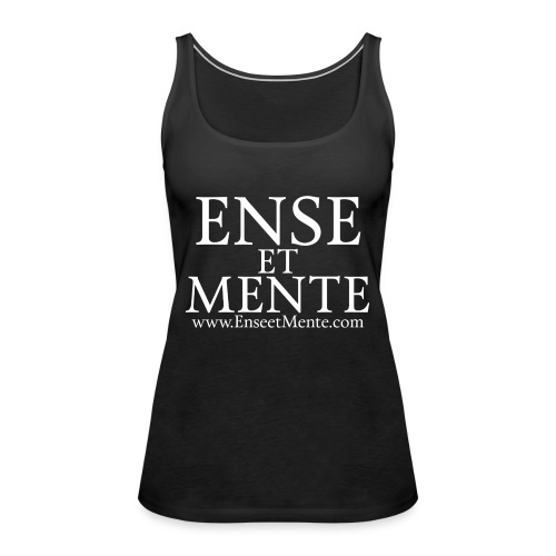 Ense et Mente text - Premium singlet for kvinner