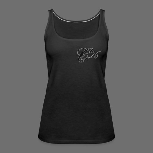C26 logo tshirt - Women's Premium Tank Top