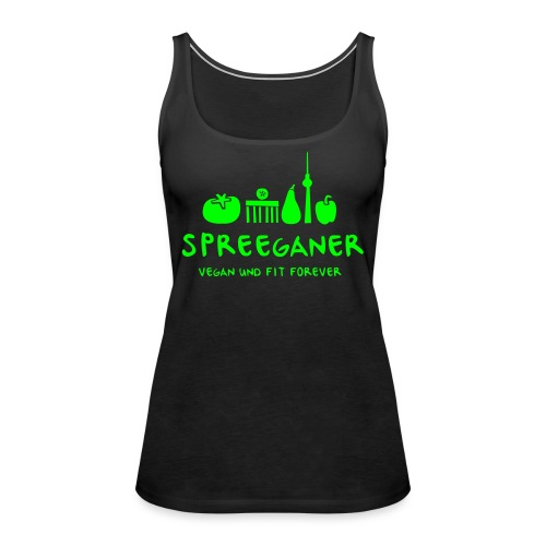 Spreeganer Logo - Frauen Premium Tank Top