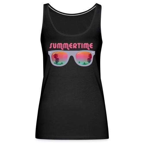 summertime sunglasses - Tank top damski Premium