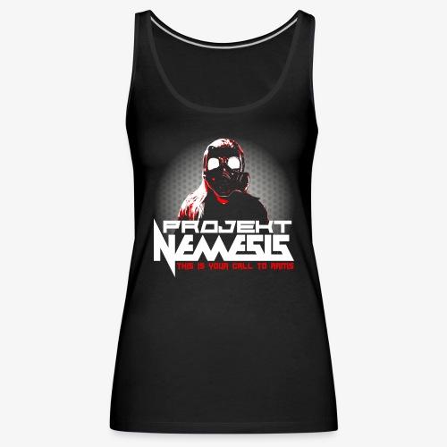 Projekt Nemesis Dark Logo - Women's Premium Tank Top