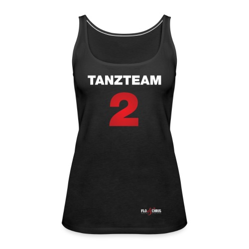 tanzteam 2 trikot weiß ne - Frauen Premium Tank Top