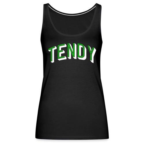 Hockey Goaltender - Tendy - Women's Premium Tank Top