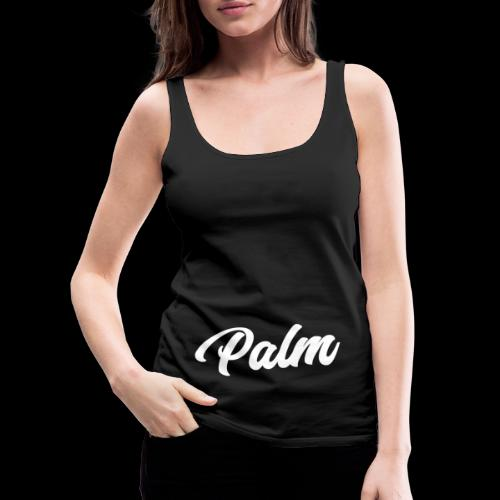 Palm Exclusive White - Dame Premium tanktop