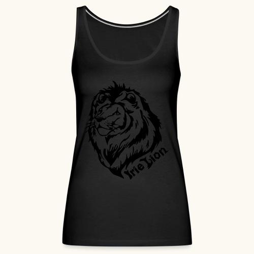 Irie Lion - Lion Rastafari - Débardeur Premium Femme