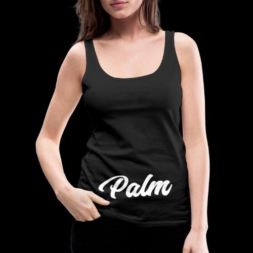Palm Exclusive White - Dame Premium tanktop