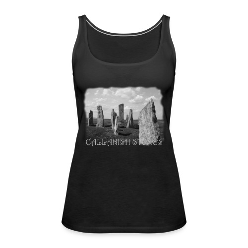 CALLANISH STONES #1 - Frauen Premium Tank Top