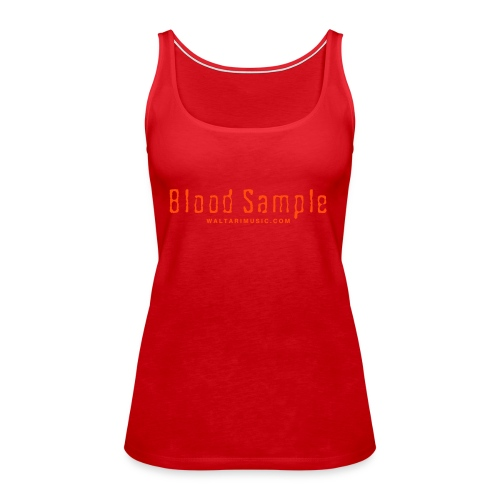 Waltari Blood Sample Logo - Women's Premium Tank Top