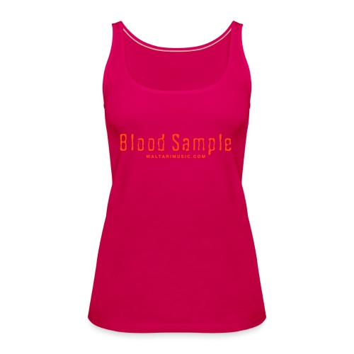 Waltari Blood Sample Logo - Women's Premium Tank Top