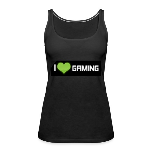 I <3 Gaming Tee And Others - Women's Premium Tank Top