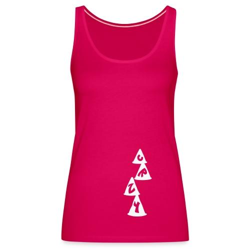 Conos CRZY: CR - Camiseta de tirantes premium mujer