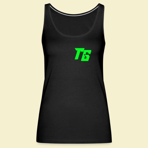 TristanGames logo merchandise - Vrouwen Premium tank top