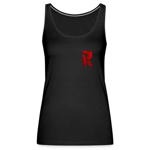 RaZe R Logo - Women's Premium Tank Top