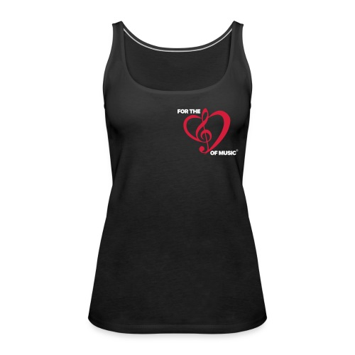 FTLOM original emblem (downsized) - Women's Premium Tank Top