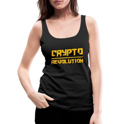Crypto Revolution III - Women's Premium Tank Top