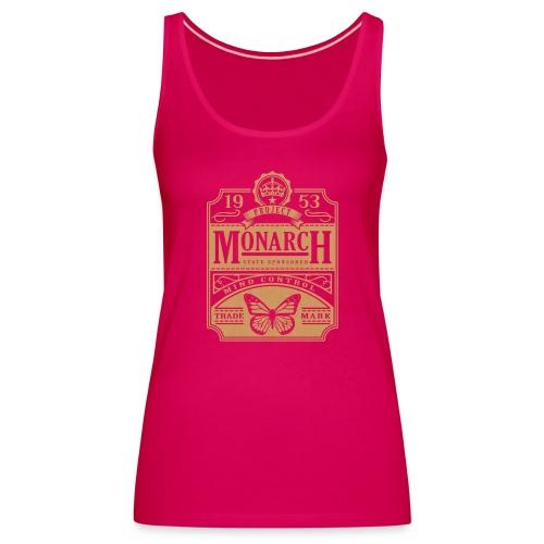 MONARCH VINTAGE GOLD - Women's Premium Tank Top