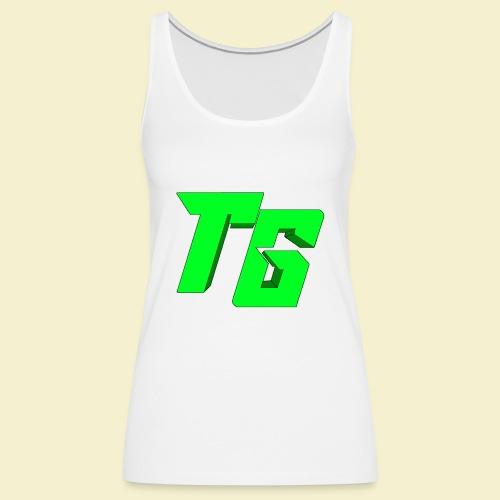 TristanGames logo merchandise [GROOT LOGO] - Vrouwen Premium tank top
