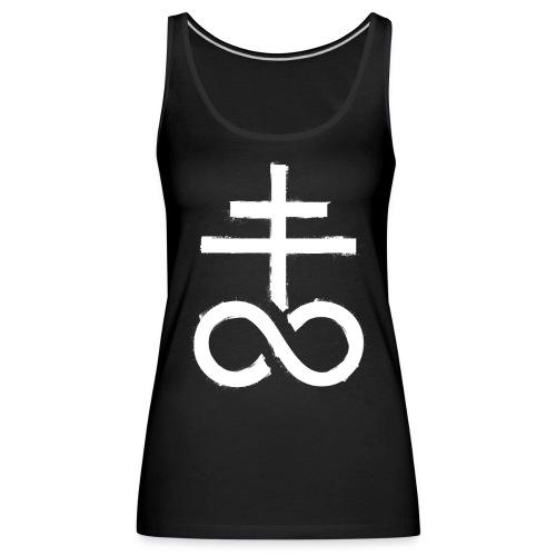 symbol satanic church 1 - Frauen Premium Tank Top