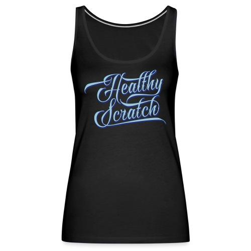 healthy_scratch_vectorize - Women's Premium Tank Top