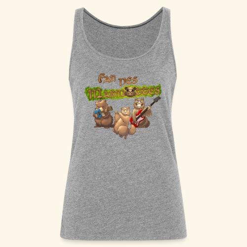 Tshirt fans - Débardeur Premium Femme