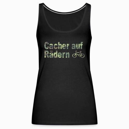 Cacher auf Rädern - Frauen Premium Tank Top