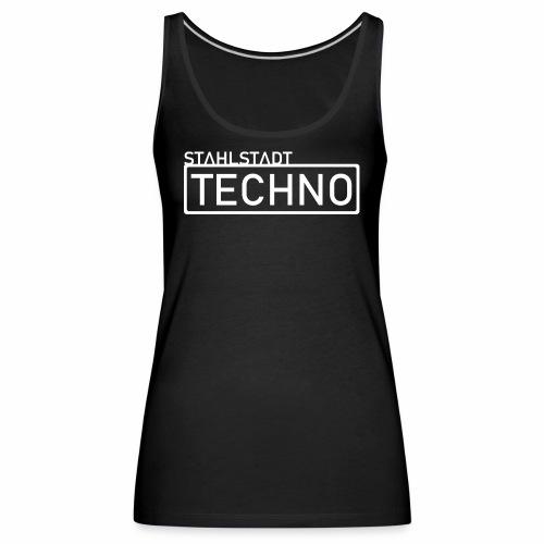 Stahlstadt Techno weiß - Frauen Premium Tank Top